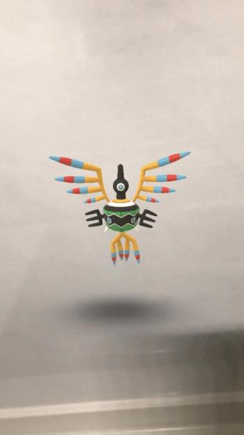 シンボラーのAR画像