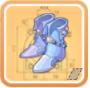 白宝石の靴(水晶の靴)