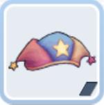 俳優の帽子
