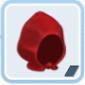 血色の赤い帽子[1]