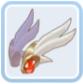 雪白鳥の羽根飾りシリーズ