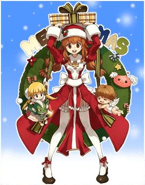 クリスマスイブ祝福