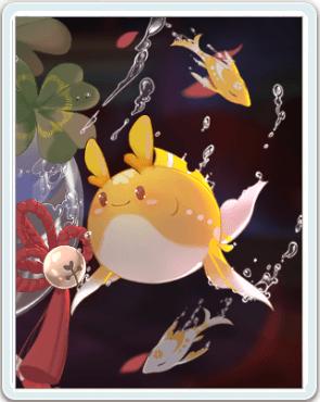 黄金の金魚