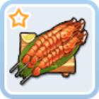 初心者の海鮮串焼き