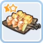 腹ペコの串焼き