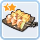 黄金の串焼き