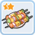 炎の野菜串焼き