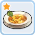 いい香りのミートスープ