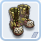 堅固なブーツ