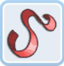 赤いベルベットリボン