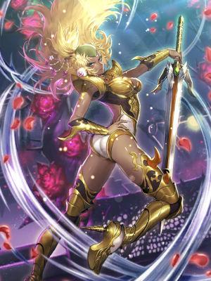 金獅子姫立ち絵