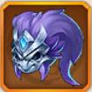破軍の面甲のアイコン