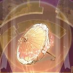 縁結びの傘のアイコン