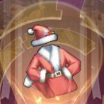 サンタ衣装のアイコン