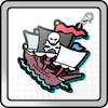 フック船長の海賊船アイコン