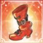 火種の靴アイコン