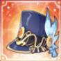 剣神の帽子アイコン