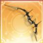 軍用の鋼鉄弓アイコン