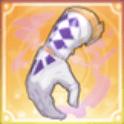 紫色の煙アイコン
