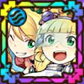 ケリ姫&飛行士のアイコン