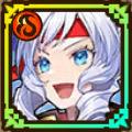 熱戦を飾る応援姫・天花のアイコン
