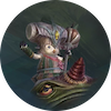 フカ族村の呪術師アイコン