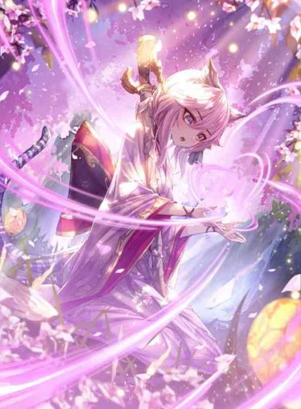 桜のささやきサナ画像