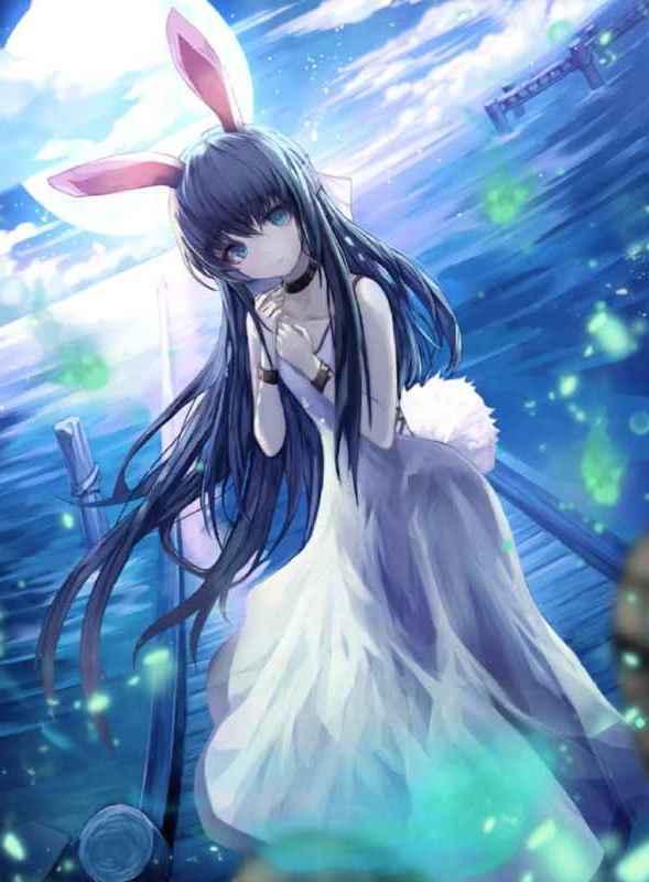 孤独な妖精の少女バンシー画像