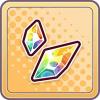 虹の結晶片のアイコン