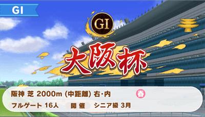 大阪杯のレースデータ