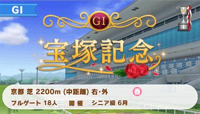 宝塚記念(特別開催)のレースデータ