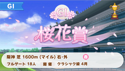 桜花賞のアイコン