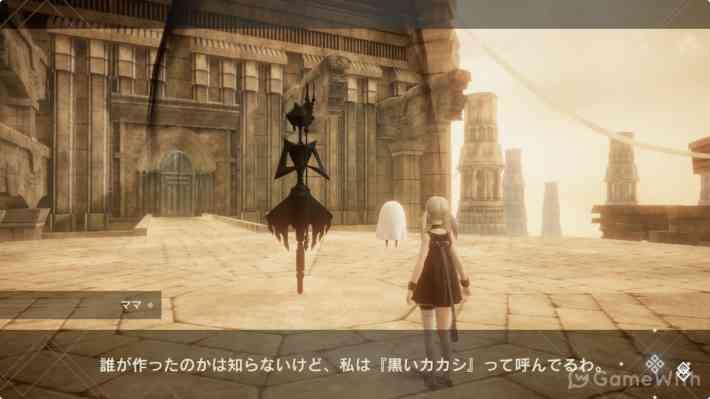 NieR Re[in]carnationのゲーム画面