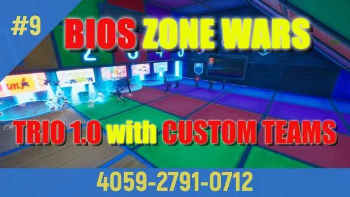 Bios Zone Wars Trio 1.0 - Custom Teams