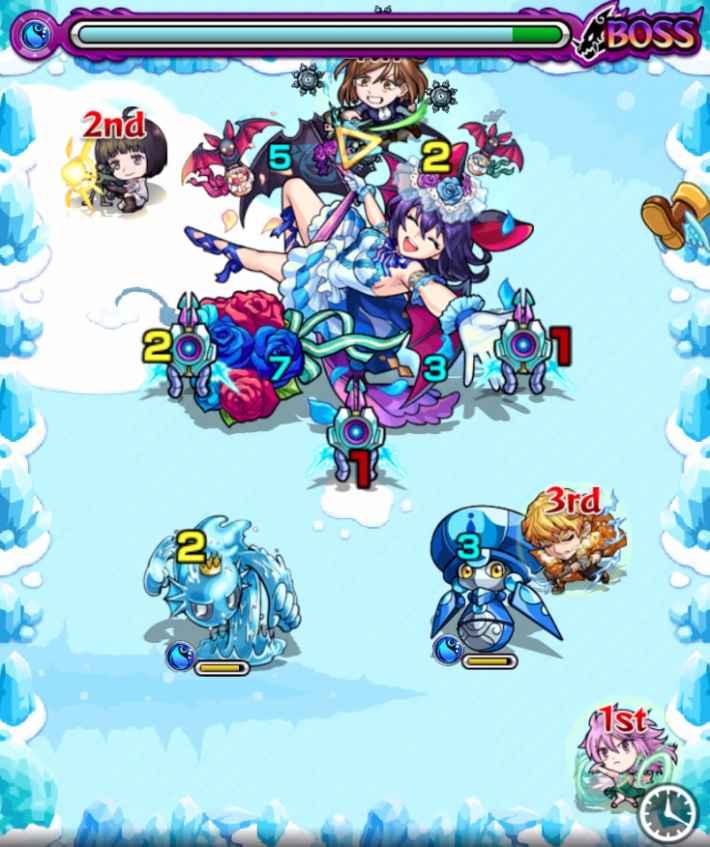 ウェンディア【究極/星5制限】のボス1
