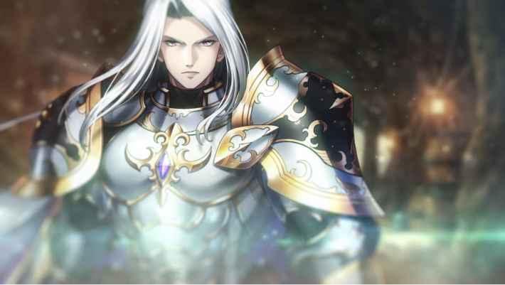 銀髪の騎士