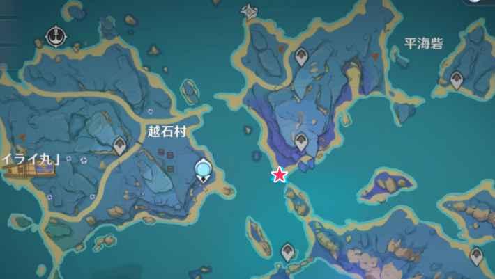 稲妻釣り場越石村2
