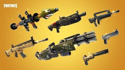 フォートナイト 武器