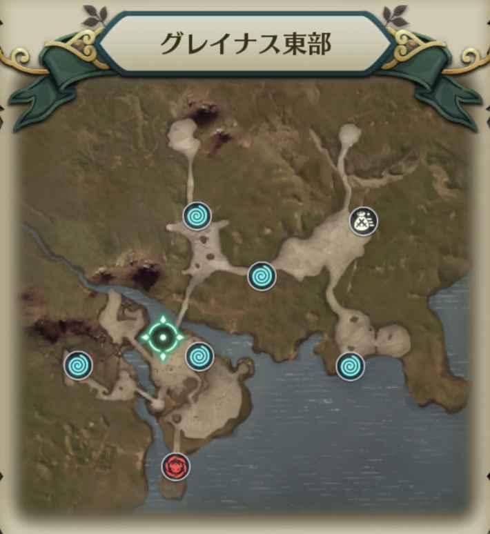 バエルゴーレムマップ2