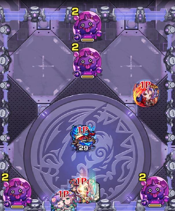 紫閃の狩人のステ4