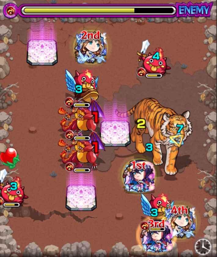 弓虎姫究極のステ2