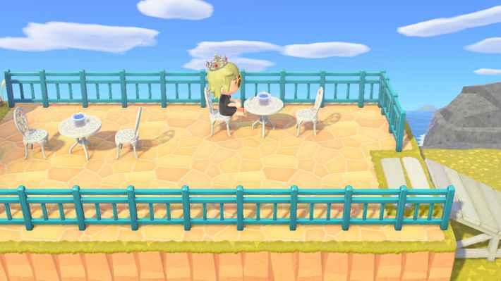 海辺のカフェテラス