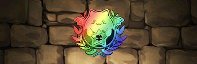 パズドラ学園の園章【虹】の画像