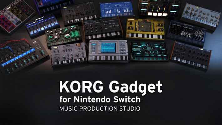 KORG Gadget for Nintendo Switchの画像