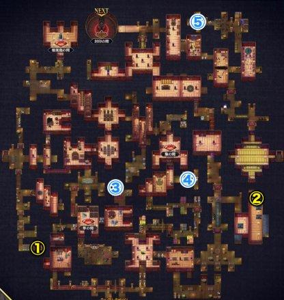 第四階層の全体マップ