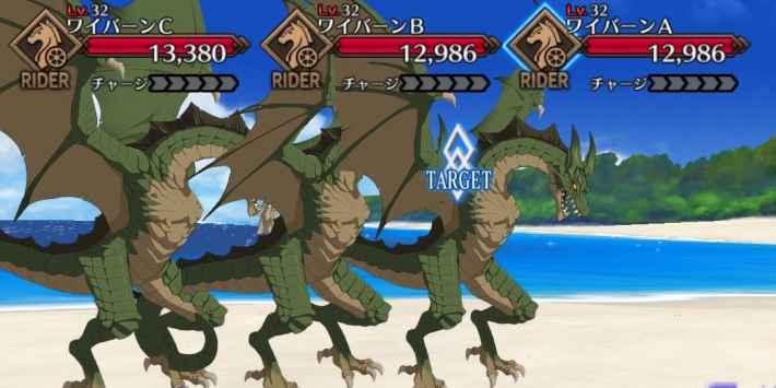 佐々木小次郎の強化クエスト1攻略 進行度5 敵編成画像