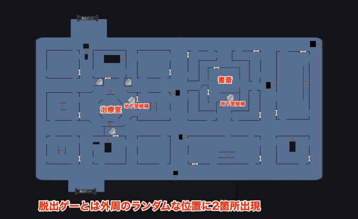 治療室シアターマップ