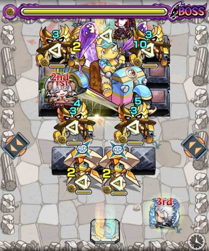 アサイー【極】のボス第3戦