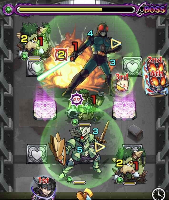 ブラックRX【究極】のボス2