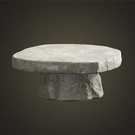 いしのテーブル